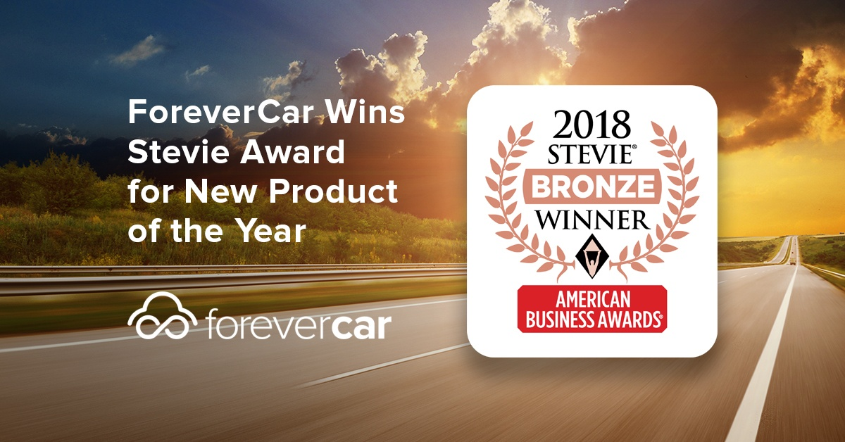 ForeverCar wins Stevie Award