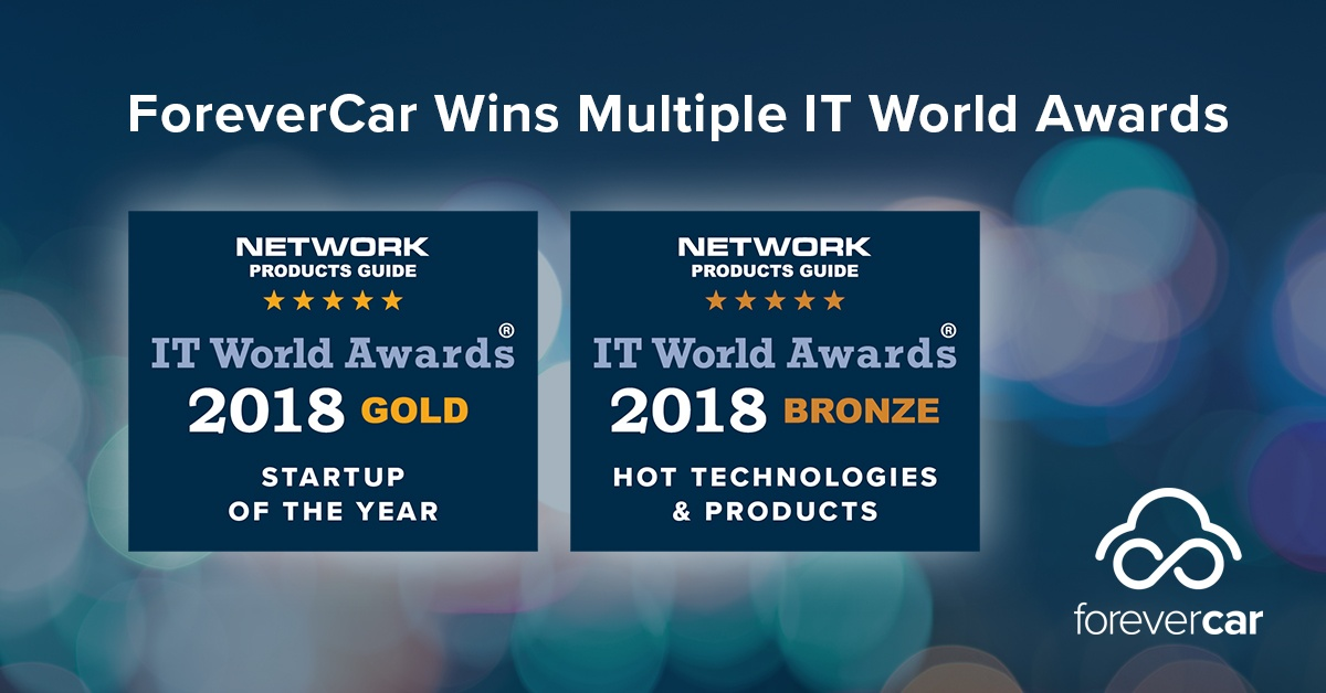 ForeverCar Wins Multiple IT World Awards