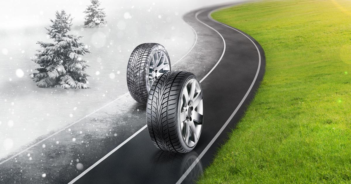 Rubber Match Winter Tires vs. All-Season Tires