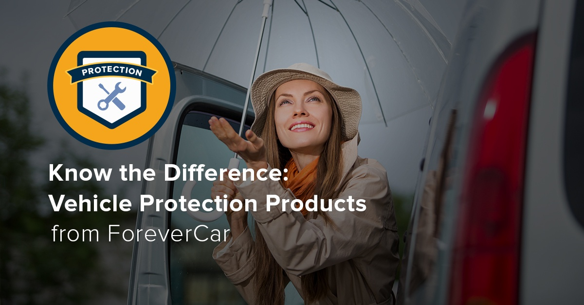 Know the Difference: Vehicle Protection Products
